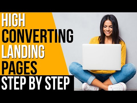 HOW TO CREATE A FREE LANDING PAGE! STEP BY STEP