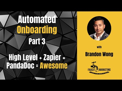 Automated Onboarding Part 3: A Deep Dive Into the Zaps and High Level Triggers