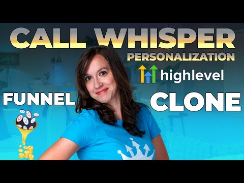 Go High Level NEW Features – Call Whisper, Funnel Clone, & MORE!