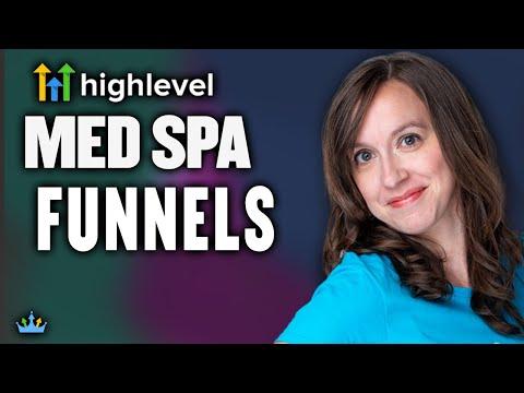 Marketing Funnel Template: Medspa Funnels Review & Sneak Peek
