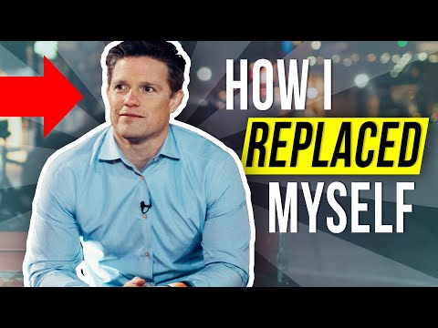 I replaced myself…by doing THIS…