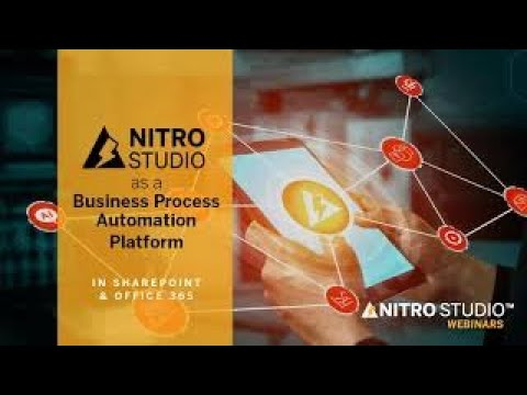 Business Process Automation Platform: NITRO Studio