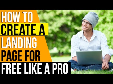 ✅ How to Make A Landing Page For Beginners 🔥