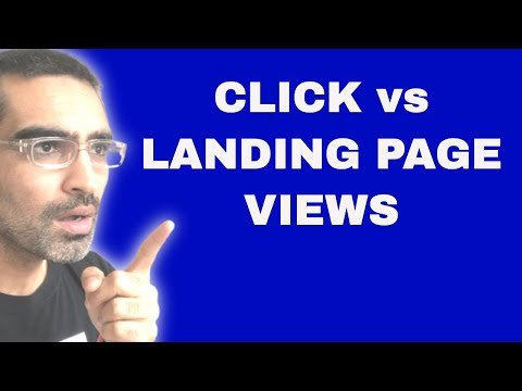 Link Clicks vs Landing Page Views In Facebook Ads