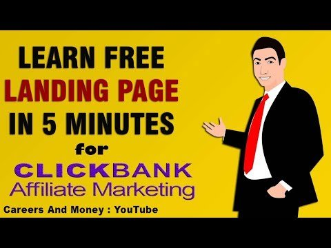 How To Build Free Landing Page For Affiliate Marketing Full Tutorial