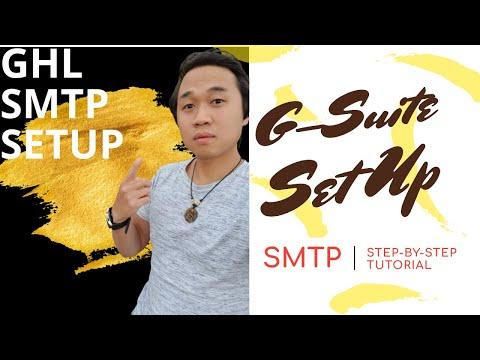 Gsuite Set Up For GoHighLevel – Complete Set Up Guide [ GO HIGH LEVEL | GHL ]
