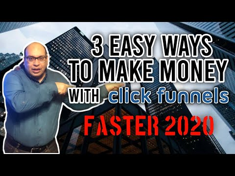 How  To Make Money With Clickfunnels 2020