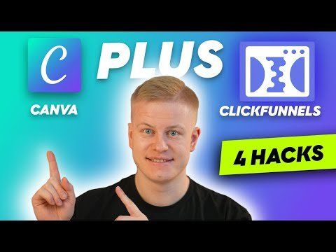 4 Funnel Design Hacks in CANVA (nobody does this) – Clickfunnels & Canva Tutorial