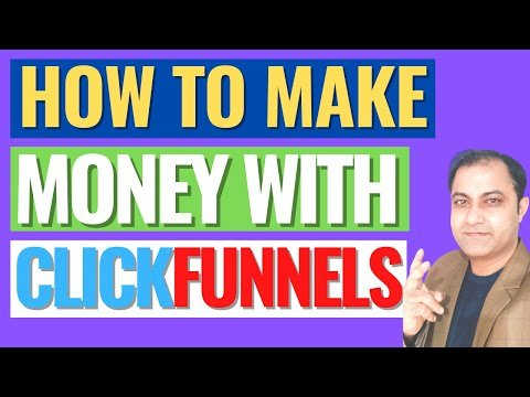 How To Make Money Online With ClickFunnels Affiliate Program 2021!