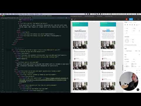 Building a Landing Page with Tailwind CSS