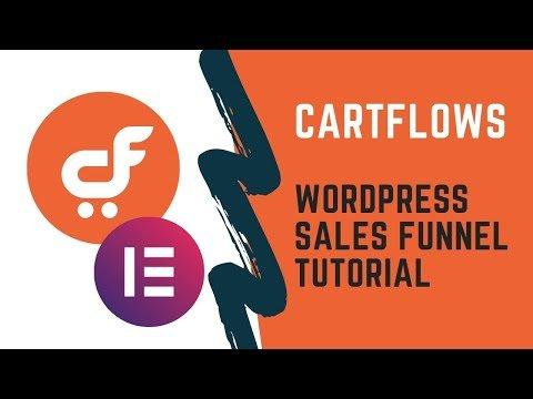 CartFlows sales funnel | wordpress sales funnel tutorial