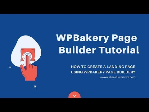 WPBakery Page Builder Tutorial   How to Create a Landing Page Using WPBakery Page Builder?