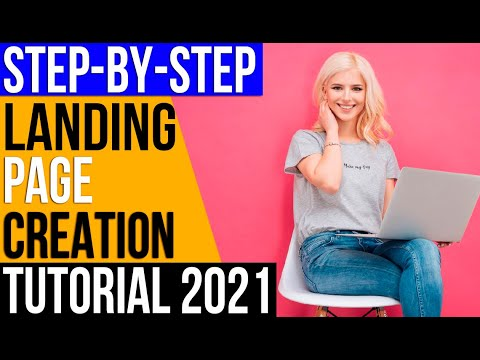 ✅How to Create Awesome Landing Page For Free🔥