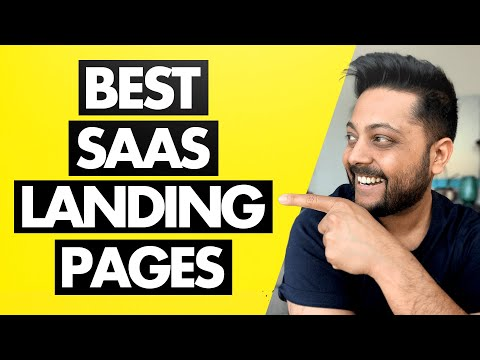 SaaS Landing Pages That Convert in 2021 – Examples, Trends & Insights