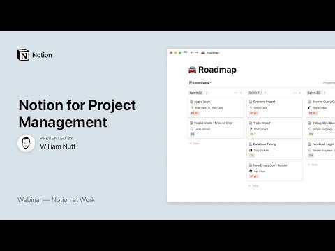 Notion at Work: Notion for Project Management