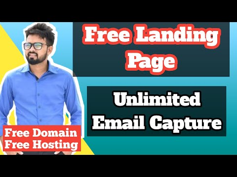 Create FREE Landing Page to Build Email List   Affiliate Marketing in Hindi 2020