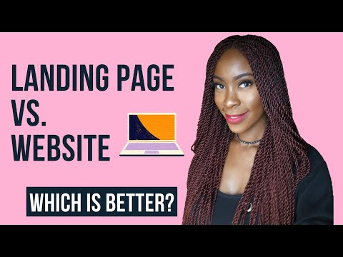 Landing Page Vs Website: Which do you need?