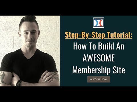 ➡️ How To Build a Membership Site In Clickfunnels ✅ Full Step-By-Step Tutorial