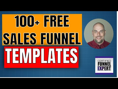 100 Free Sales Funnel Templates