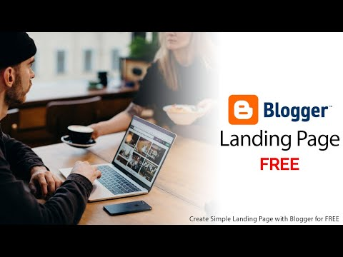 Create Simple Landing Page with Blogger for FREE