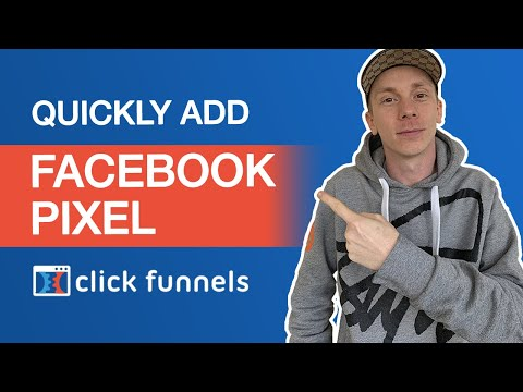ClickFunnels Tutorial: How to add the Facebook Pixel to your funnel!