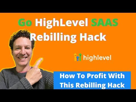 Go HighLevel Rebilling – Twilio Resell Settings. All SAAS Marketing Agencies Should Be Doing This