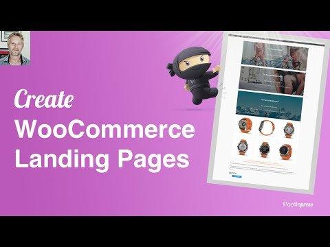 WooCommerce Landing Page Tutorial