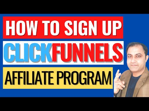 How To Sign Up For Clickfunnels Affiliate Program 2021 for FREE! (Step By Step Tutorial)