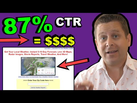High CTR Landing Page Types (Example C made me over $1,521,910)