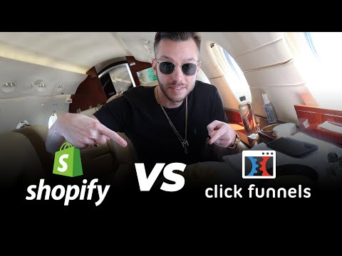 SHOPIFY VS CLICKFUNNELS | Which One for Dropshipping? (Ultimate Showdown)