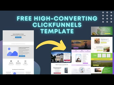 The Best ClickFunnels Sales Page Template | FREE Pre-Made Funnel