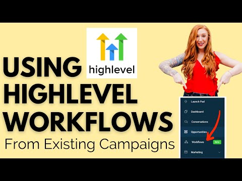 Using Workflows in Go Highlevel