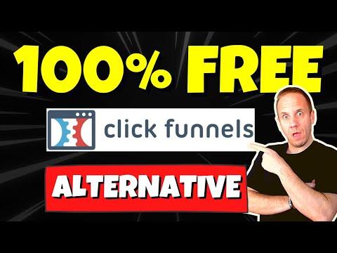 FREE Clickfunnels Alternative | Free Sales Funnel Builder [NOT Groove Funnels]