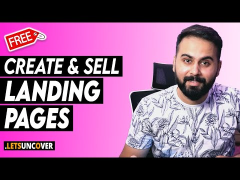 Create and Sell Free Landing Pages Online, High Paying Freelancing Skills, Landing Page on WordPress