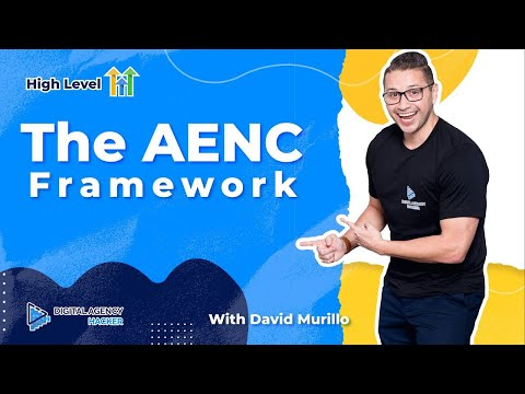The 4 Segments of a Go High Level snapshot : The AENC framework