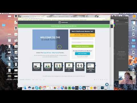 Clickfunnels Share Funnel   How to set up Clickfunnels account