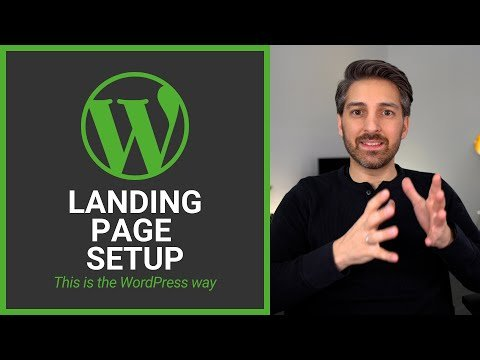 Level up your Landing Page Setup with WordPress