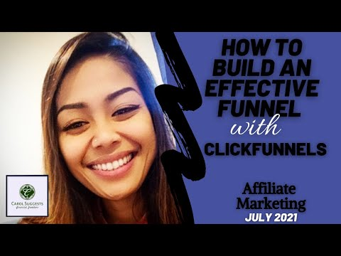 How To Build Your Funnel In Clickfunnels! (Beginner affiliate marketer July 2021)