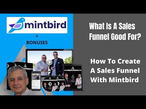 Mintbird 🔥 How To Create A Sales Funnel 👍 Mintbird Bonus 💯 ClickFunnels vs Mintbird