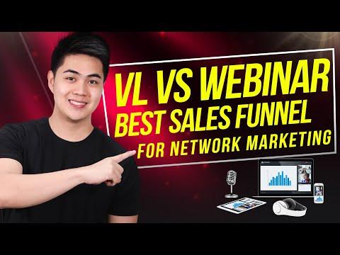 Most Effective Sales Funnel for MLM Business: VSL vs Webinar
