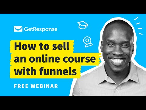 How to Sell Online Courses with Conversion Funnel | Webinar with Leslie Samuel