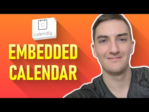 How to embed Calendly on a website or landing page