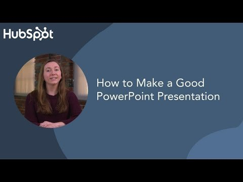 How to Make a Good PowerPoint Presentation (Tips)