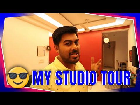 My Studio Tour in work from home   Hrishikesh Roy