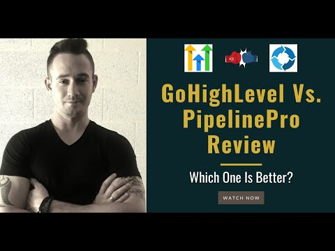 ☑️ GoHighLevel Vs PipelinePro Review – Which One Is Better?
