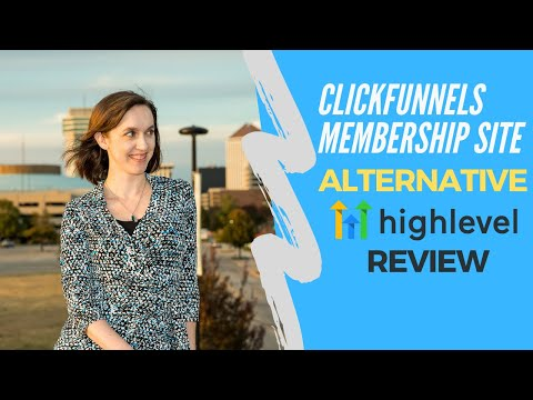 Clickfunnels Membership Site Alternative! Gohighlevel Review for Membership Sites