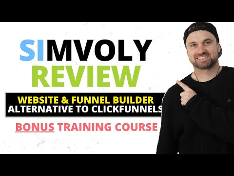 Simvoly Review ❇️ Funnel Builder [Alternative to Clickfunnels] 🔥