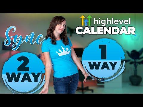 GoHighLevel Calendar Sync! 2-Way Vs 1-Way