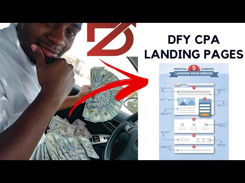 DFY Landing Pages For CPA Marketing Using EasyPages.io