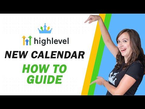 GoHighlevel NEW CALENDAR Setup Guide